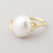 Statement ring fresh water pearl.