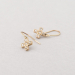 Cross earrings.