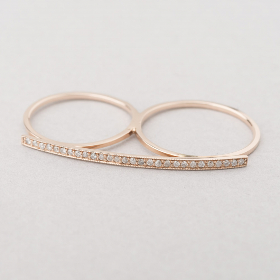 bar knuckle ring