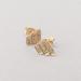 Art deco earrings studs